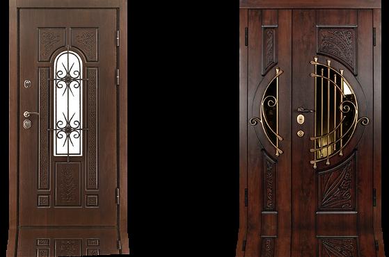 Стальная дверь с отделкой Vinorit