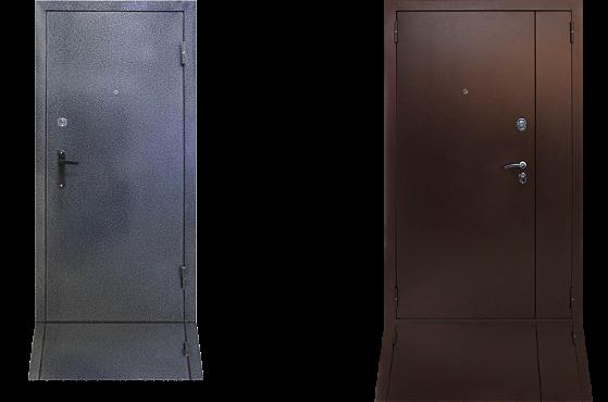 """Стальная дверь с отделкой """"Порошковое напыление"""""""