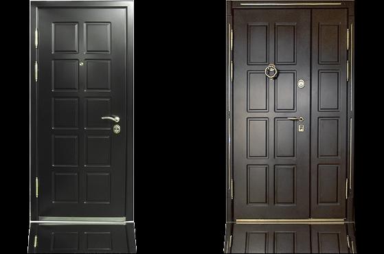 Стальная дверь с отделкой DiccoFlex