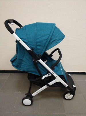 детская коляска yoya plus 2017 175 градусов цвет синий