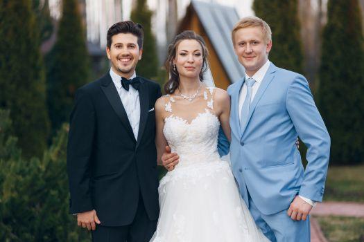 Красивая пара + интеллигентный ведущий = лучшая свадьба!