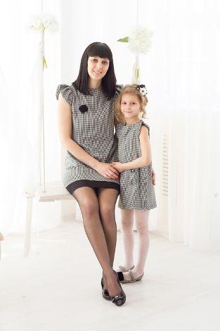 Платья для мамы с дочкой