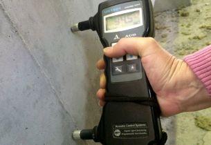 Ультразвуковой тест бетона на прочность и целостность